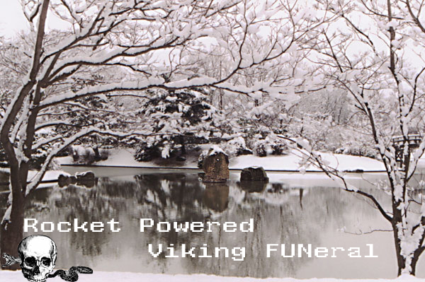 Rocket Powered Viking FUNeral